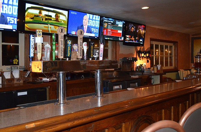 Newly installed TV's showing Live Sports and various chanells
