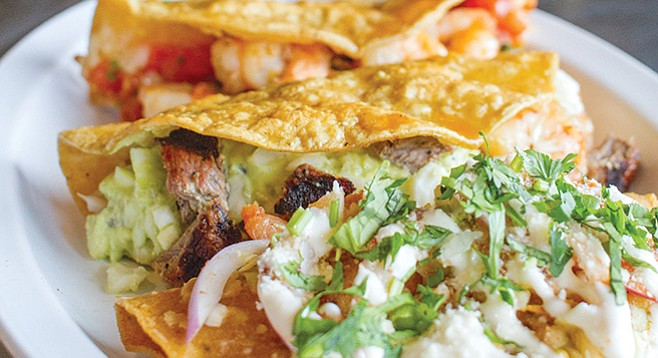 Baja Oyster & Sushi Bar — stick with tacos. - Image by Matthew Suárez