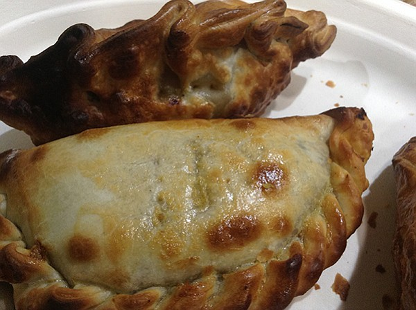 Beef empanada — the most popular of all