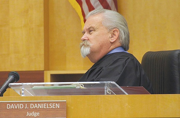 "David J. Danielsen, San Diego Superior Court judge, said ""He certainly seems dangerous,"" and he ordered Alan Sasseen to stand trial on four felony counts."