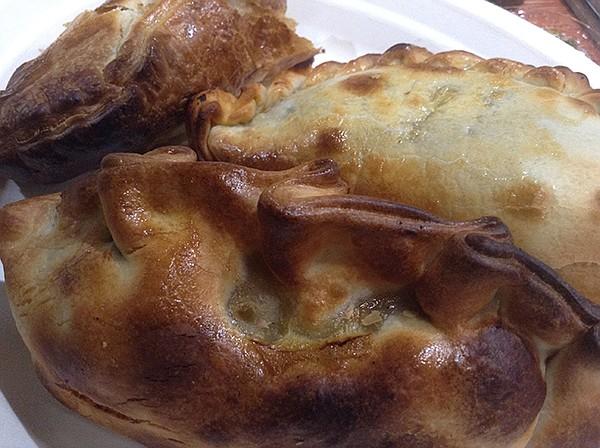 Lamb empanada, Patagonia-style