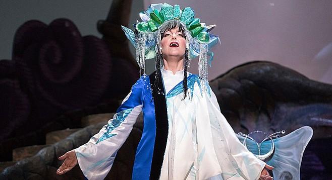 Lise Lindstrom in SD Opera's Turandot