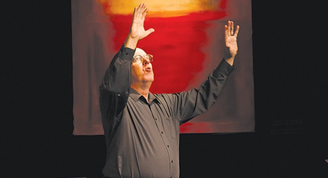 Robert May as Mark Rothko in Red