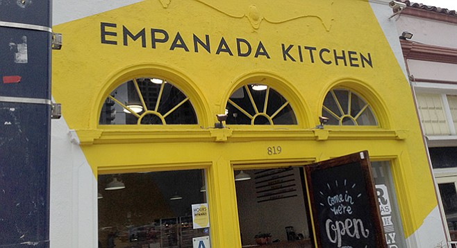 Was Brazilian, now Argentinian: empanadas rule the new day