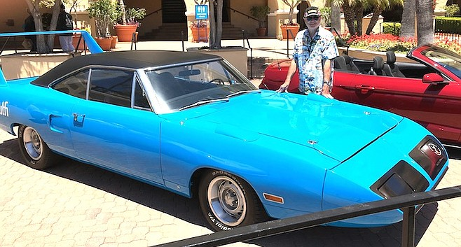 "Bob Meigs' 1970 Superbird. ""They're worth about $150,000 today."""