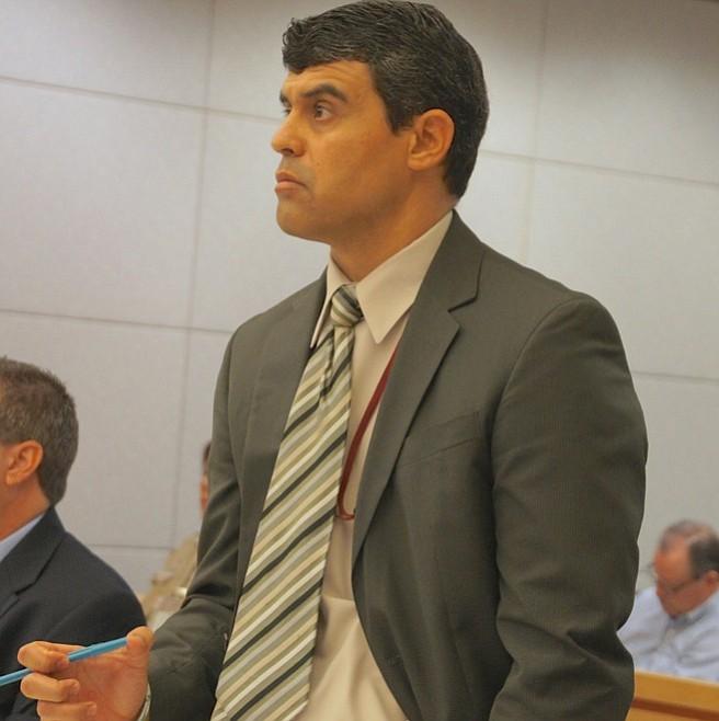 Prosecutor Pat Espinoza.