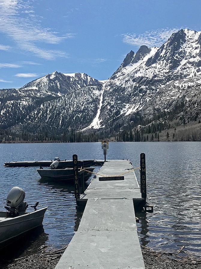 Silver Lake in the spring.