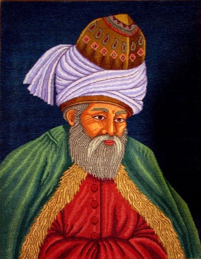 Sufi Mystic and Poet Rumi