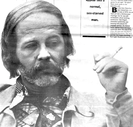 Hannibal, 1977. He started sympathizing with drug dealers and heroin addicts.