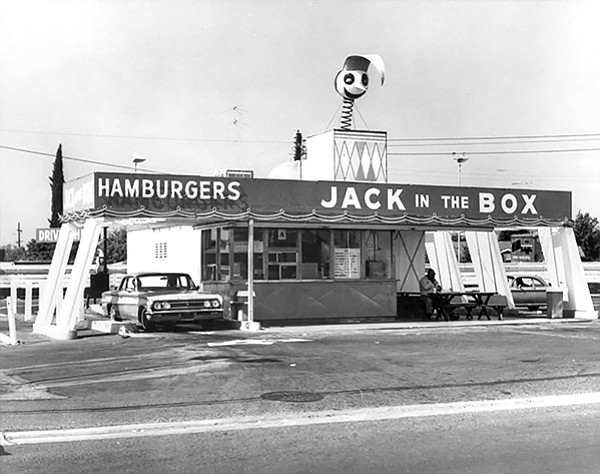 The first Jack in the Box stood at 63rd and El Cajon Boulvard.