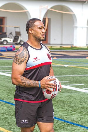 "Sione Tu'ihalamaka: ""You don't get to tackle guys weighing 250."""