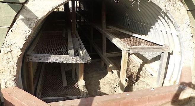 Remaining bunker