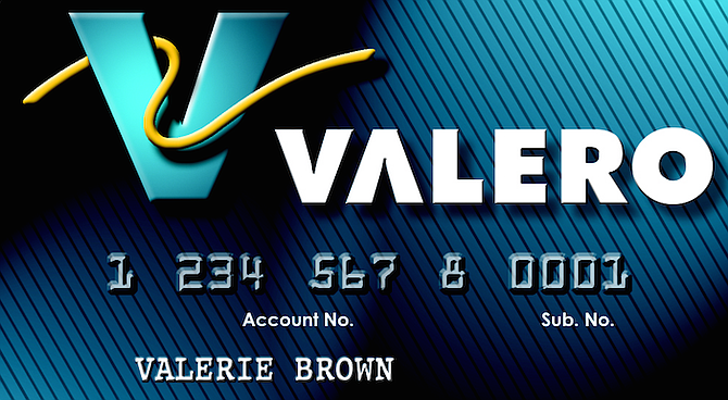 Valero card. Valero Energy Corp. is among the companies that have plowed $7.5 million into the Coalition to Restore California's Middle Class.