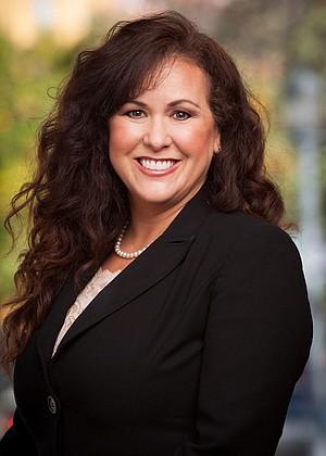 Lorena Gonzalez, whose husband Nathan Fletcher is running against Saldana