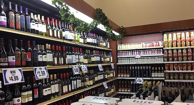 Poway branch. Despite the name of the store, they sell little alcohol for 99 cents, though they promise robust price disclosure wherever they charge more.