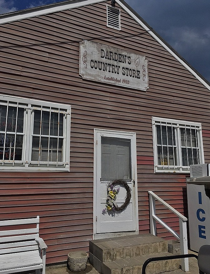 Darden's Country Store, Smithfield, Virginia.
