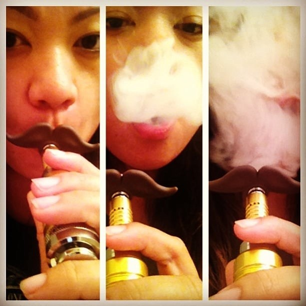 Vaping was once sold as a way to kick the cigarette habit.