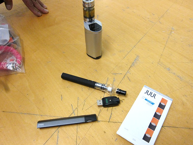 There may be a push to make e-cigarette devices look more like cigarettes.
