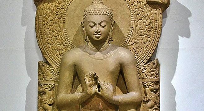 Gautama Buddha: why is this man smiling?