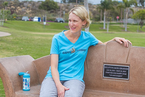 Sarah Graham. The playground at Encinitas Community Park was the last playground Kleptyn played at before he died.