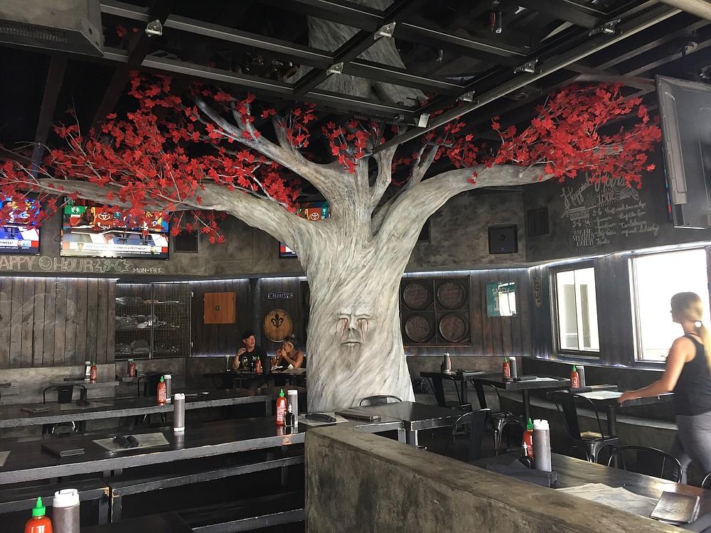 Weirwood tree inside OB Noodle House Bar 1502