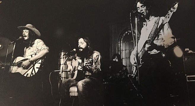 Local roadhouse rockers O.D. Corral in the 1970s.
