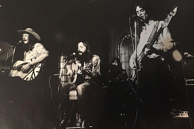 1974, Aspen Public House La Jolla - David Bradley, Dusty Best, Warner Davis, Gary Cooper