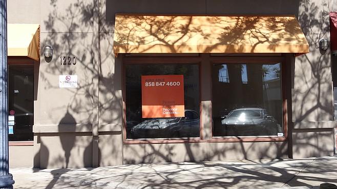 Vacancy next to Wells Fargo