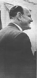 1966. Miller in meeting with LBJ