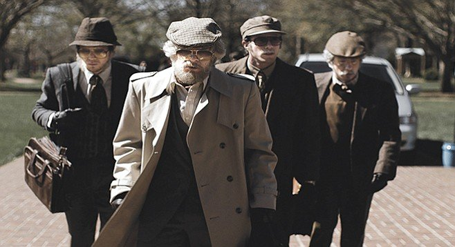 American Animals: There is no going in style for these plucky jocks, disguised as seniors because no one notices old people.