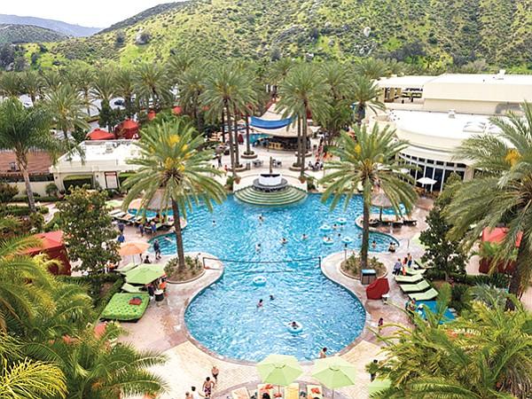 Harrah's in Valley Center. The Rolls-Royce of pools.