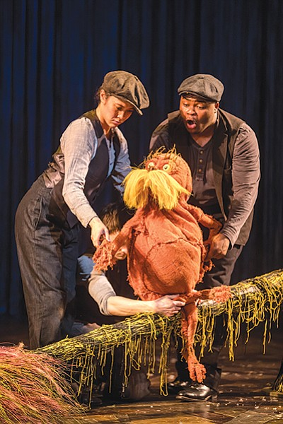 The Lorax at Old Globe was a big hit on London's West End.