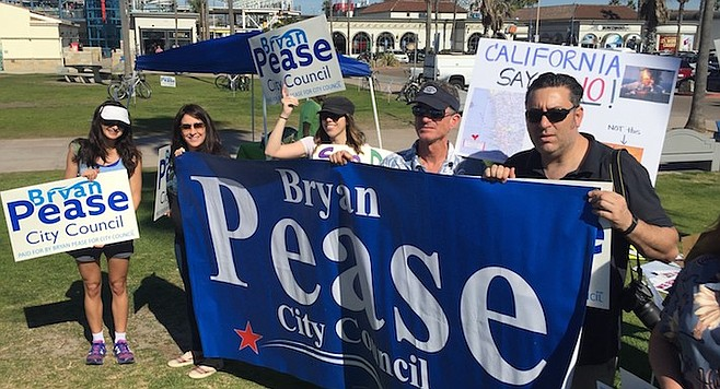 Bryan Pease fundraiser in Point Loma