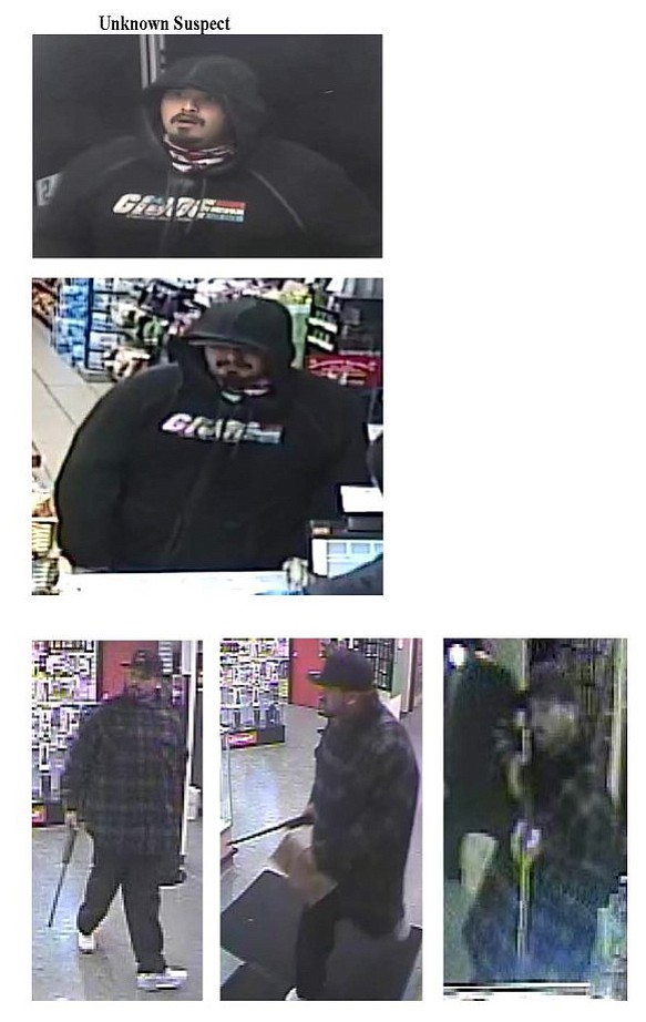 Theft was the second most mentioned concern. Armed suspect from February robbery downtown.