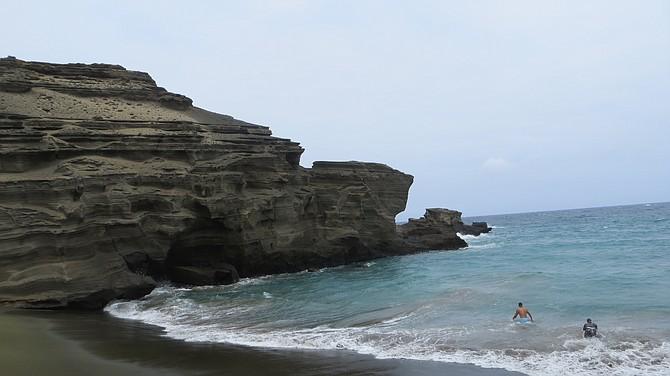 Green Sand Beach, Big Island of Hawaii