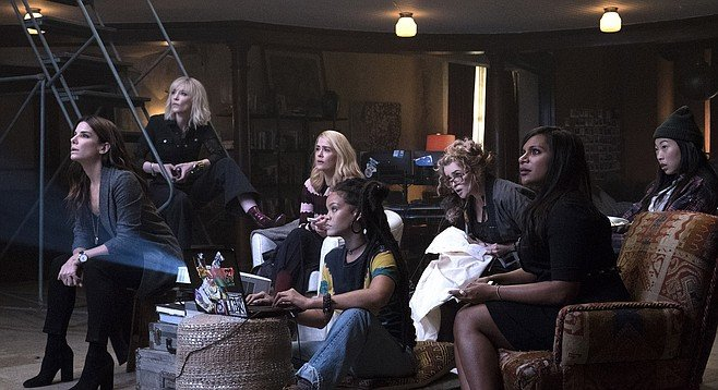 The feisty, heisty women of Ocean's 8