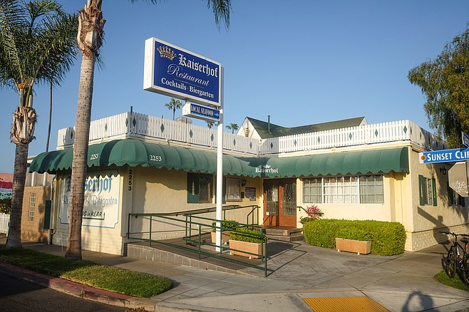 Over 30 years serving authentic German dining in Ocean Beach.