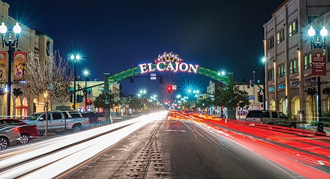 "Natives of El Cajon tell me downtown Main Street was entirely ""trashy"" before Chaldeans and other immigrants started opening up businesses.  - Image by Evgeny Yorobe"