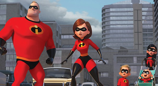 Incredibles 2: The Parr family confronts the daunting task of following the first Incredibles movie.