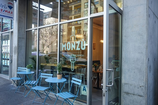 Simple, fresh pasta fare, served out of a simple storefront