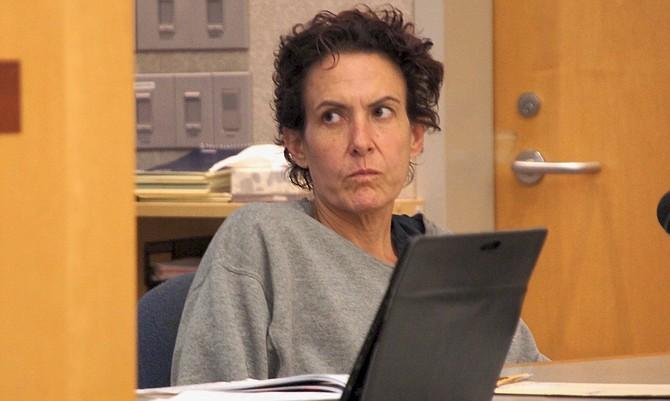 Shiona Derollo pleads not-guilty. Photo by Eva.