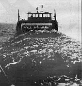 Harvesting ship Kelsol.  Kelco for the most part decides when the kelp should be harvested.