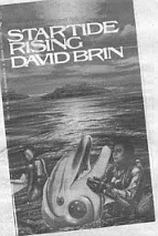 Brin's Startide Rising — about an intergalactic space flight hundreds of years in the future. The ship is crewed by humans and dolphins.