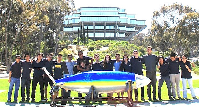For the first time in UCSD history the human-powered sub team will compete internationally