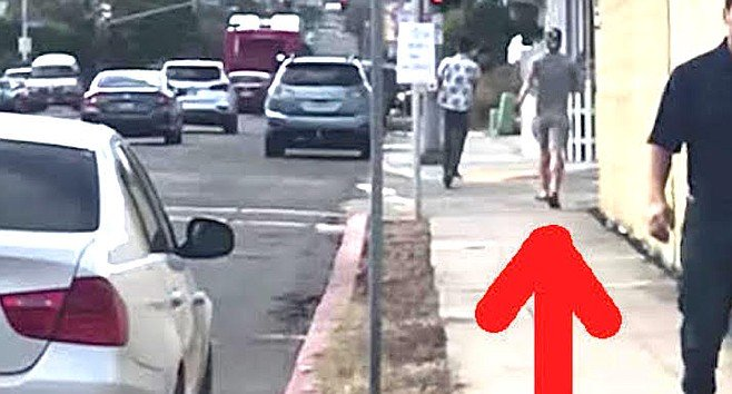 """""""He was getting up from the ground where his Bird scooter was and he began to walk away."""""""