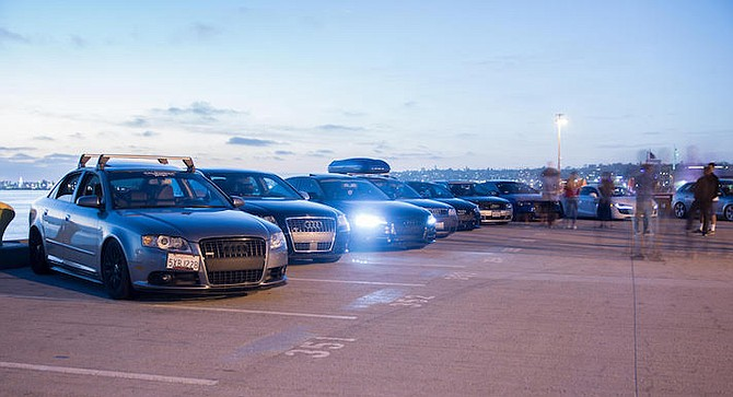 European-make vehicle owners have been congregating at the Navy Pier lot for over four years.