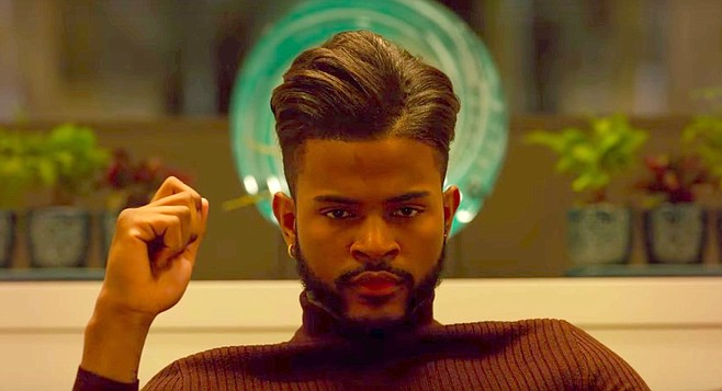 Trevor Jackson: hair so fly it's super!