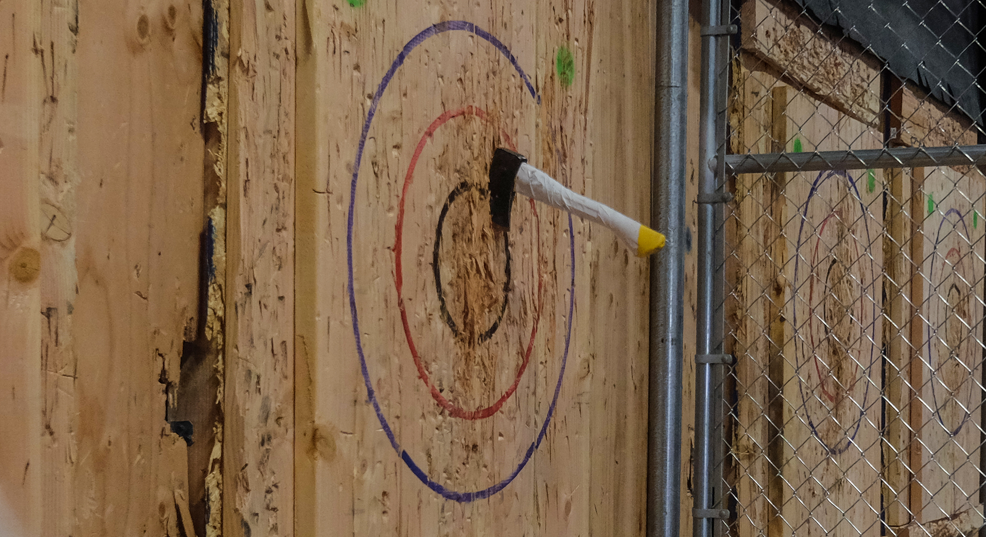 Axe throwing and pints: the new date night?