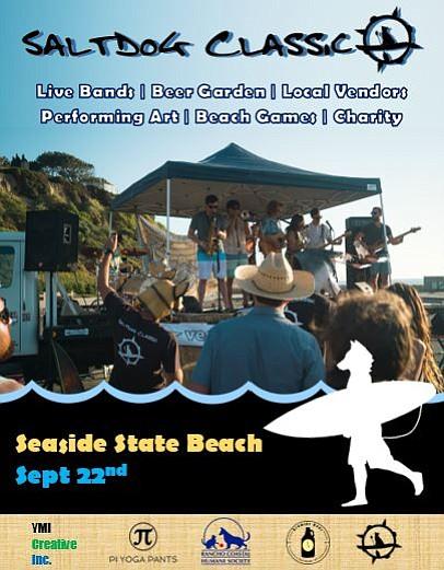 SaltDog Classic @ Seaside State Beach - Sept 22nd.