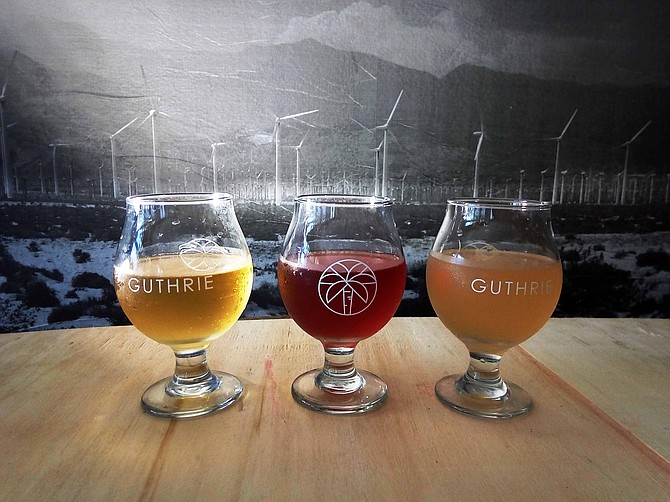 New Guthrie CiderWorks flavors will be served in its Miramar tasting room.